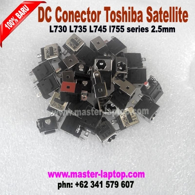 DC Conector toshiba Satellite L730 L735 L745 l755 series 2  large2