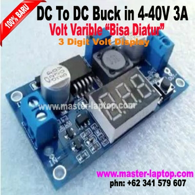 DC To DC Buck in 4 40V 3A display Volt  large2