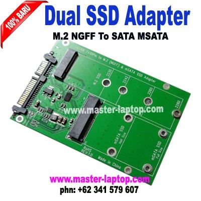 Dual SSD M2 NGFF turn sata MSATA  large2