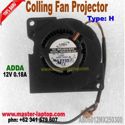 FAN Projector ADDA AB06012MX250300  large2