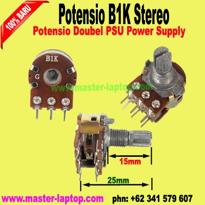 Potensio B1K Stereo  large2