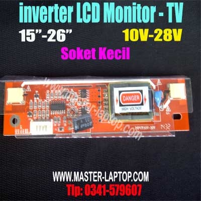 inverter LCD Monitor   TV 26 soket kecil  large2