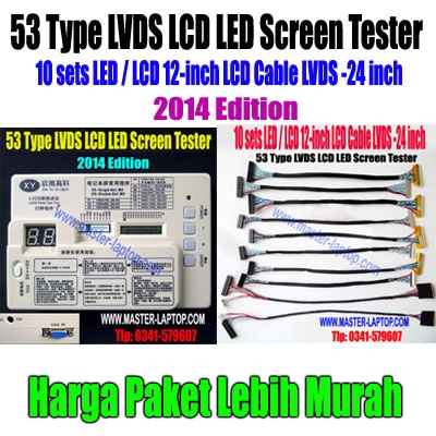 53 Type LVDS LCD LED Screen Tester paket  large2