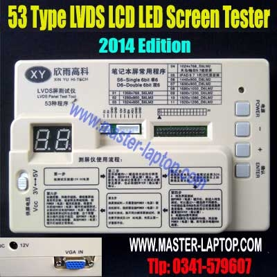 53 Type LVDS LCD LED Screen Tester  large2