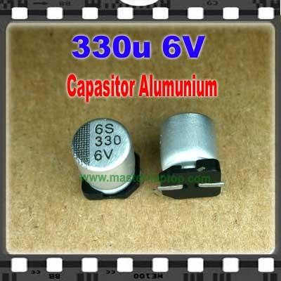 Cap Alu 330u 6V  large2
