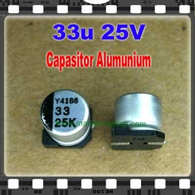 Cap Alu 33u 25V  large2