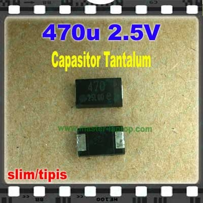 Cap tantalum 470u 2.5V  large2