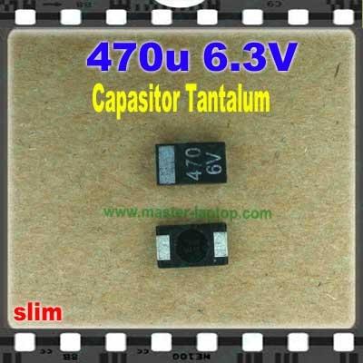 Cap tantalum 470u 6.3V  large2