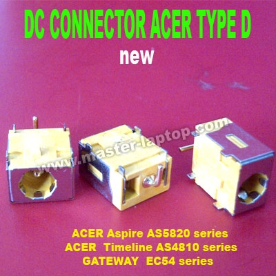 DC CONNECTOR ACER TYPE D  large2