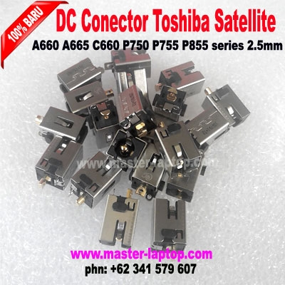 DC Conector toshiba Satellite A660 A665 C660 P750 P755 P855 series 2  large2