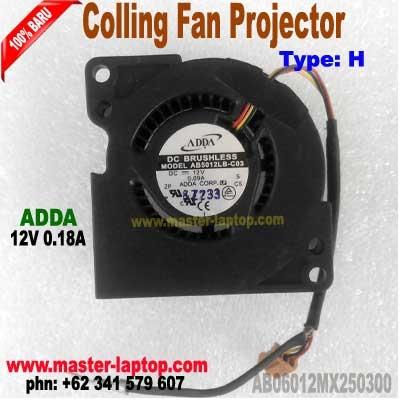 FAN Projector ADDA AB06012MX250300  large2