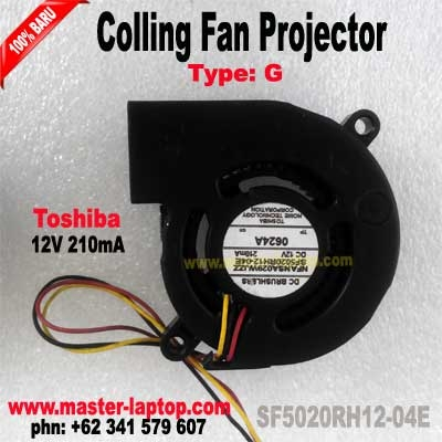 FAN Projector Toshiba SF5020RH12 04E  large2
