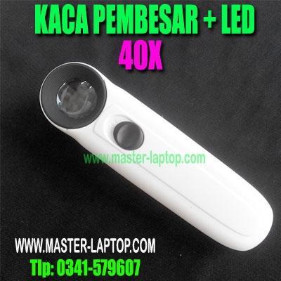 KACA PEMBESAR 40x LED AAA  large2