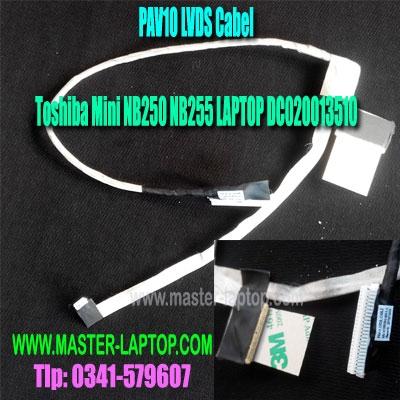 LVDS Cabel Toshiba Mini NB250 NB255 DC020013510  large2