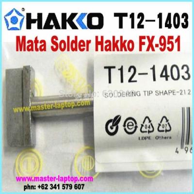 Mata Solder Hakko FX 951 T12 1403  large2