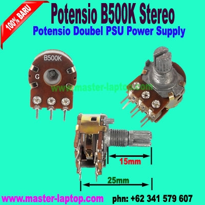 Potensio B500K Stereo  large2