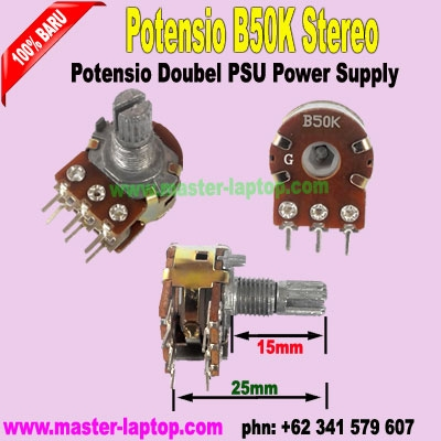 Potensio B50K Stereo  large2