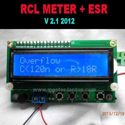 RCL METER ESR  large2
