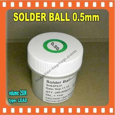 SOLDER BALL 05mm  large2