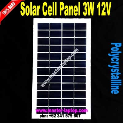 Solar Cell Panel 3W 12V  large2