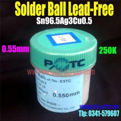 Solder Ball Lead Free 0,55mm 250k  large2