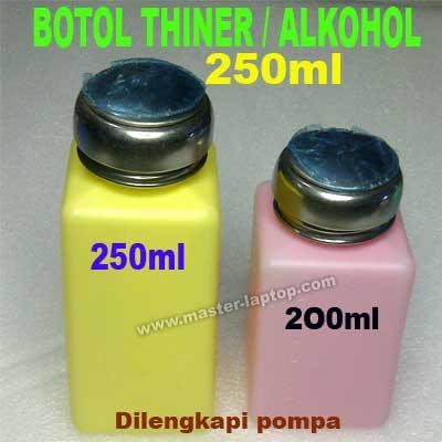 botol thiner 250ml  large2
