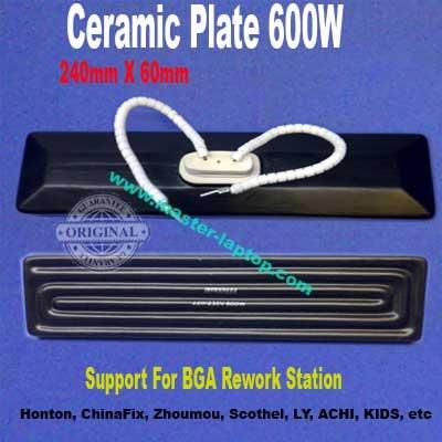 ceramic plates 600watt long  large2