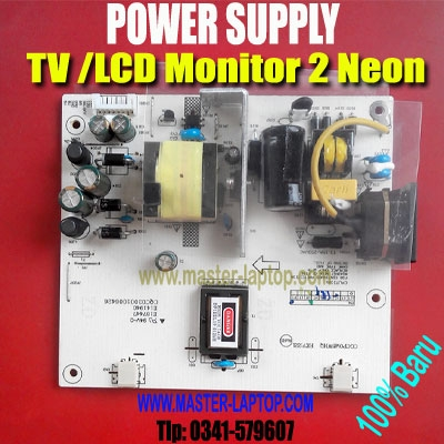 d POWER SUPPLY TV Monitor 2 neon  large2