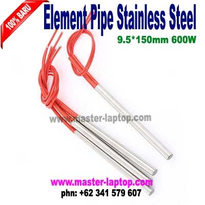 heating pipe stainless steel 9 5X150mm 600W  large2