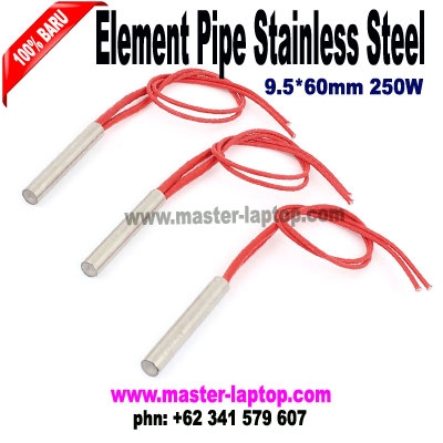heating pipe stainless steel 9 5X60mm 250W  large2