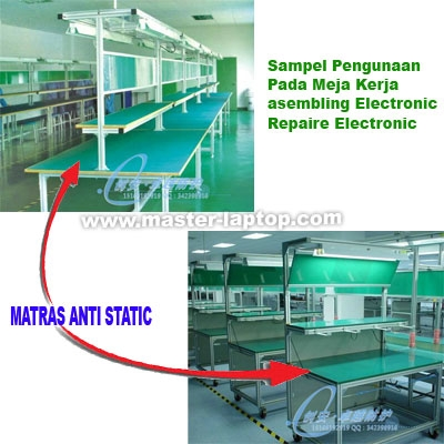 large2 matras anti static cara pakai