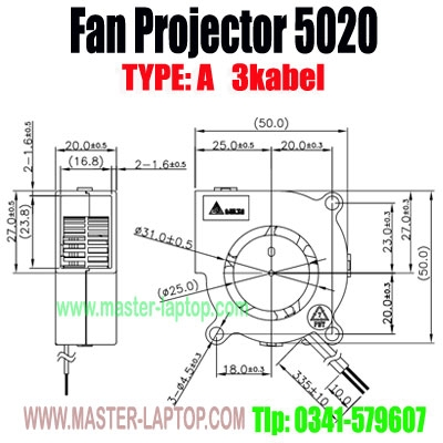 large2 Fan Projector 5020 A