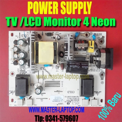 large2 POWER SUPPLY TV Monitor 4 neon