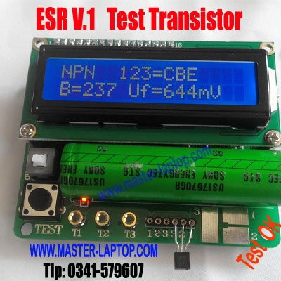 large2 ESR V1Test Transistor