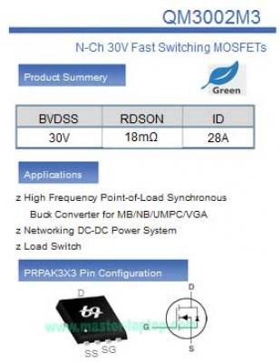 large2 QM3002M Datasheet