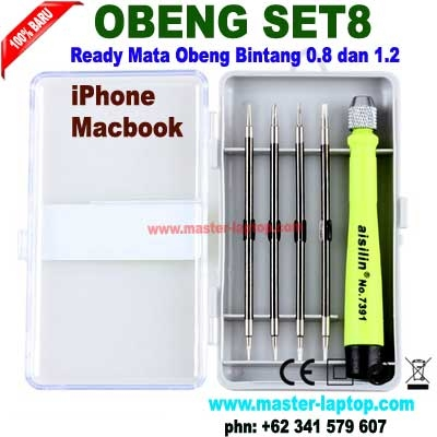 obeng set 8 new  large2
