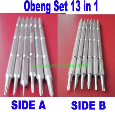 Obeng Set 13 In 1 Laptop Hand Phone